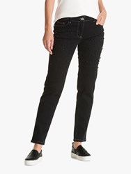 Betty Barclay Embellished Jeans Black