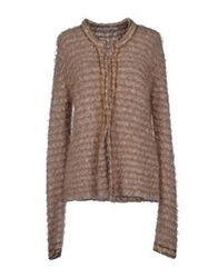 Gold Case Cardigans Dove Grey