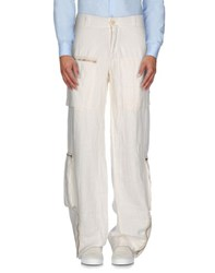 P.A.R.O.S.H. Trousers Casual Trousers Men White