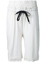 First Aid To The Injured Haemin Shorts Women Cotton 3 White
