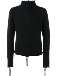 Thom Krom Zip Up Cardigan Black