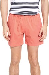 Vintage 1946 Snappers Elastic Waist Shorts Coral