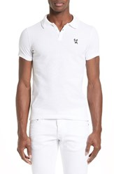 Men's Dsquared2 Ciro Dog Extra Trim Fit Polo