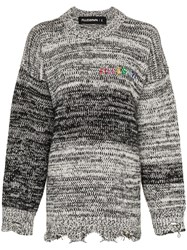 Filles A Papa West Oversized Sweater Black