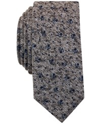 Bar Iii Men's Caledonia Floral Tie Only At Macy's Grey