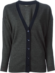 Paul Smith Black Label V Neck Cardigan Grey