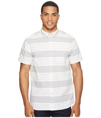The North Face Chambray Pursuit Shirt Vintage White Stripe Men's Short Sleeve Button Up Multi