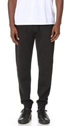 Kenzo Solid Cotton Sweatpants Noir