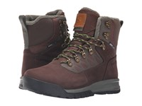 Salomon Utility Pro Ts Cs Wp Trophy Brown Leather Absolute Brown X Night Forest Men's Shoes