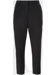Twin Set Cropped Trousers Black