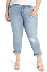 Kut From The Kloth Plus Size Women's Catherine Distressed Boyfriend Jeans Announce
