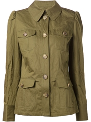 Michael Kors 'Cargo' Jacket Green
