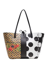 Desigual Bag Lola Pacth Capri Multi Coloured Multi Coloured
