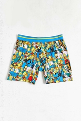 Urban Outfitters The Simpsons Cast Boxer Brief Assorted