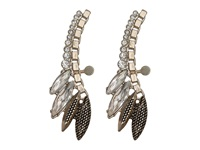 Sam Edelman Girl's Club Navette Ear Cuff Earring Crystal Gold Earring