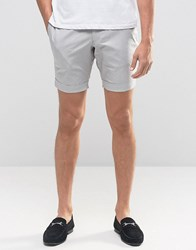 Jack And Jones Premium Shorts In Dogtooth Sand White