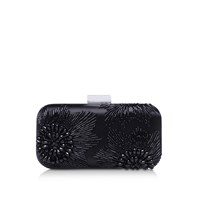 Vince Camuto Cindy Minaudiere Clutch Bag Black