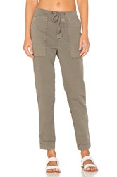 James Perse Tapered Pull On Pant Taupe