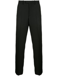 Kent And Curwen Pleated Trousers Cotton Black