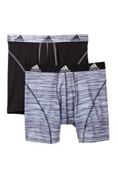 Adidas Sport Performance Boxer Brief Pack Of 2 Gray
