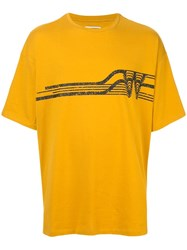 Wooyoungmi Logo T Shirt Yellow