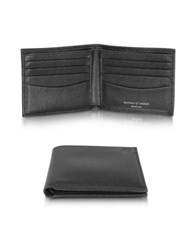 Aspinal Of London Saffiano And Suede Men's Billfold Wallet