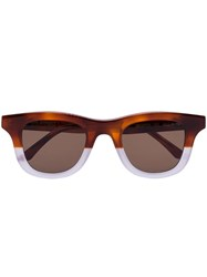 Thierry Lasry X Local Authority Creepers Sunglasses Brown