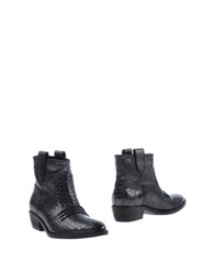 Jeannot Ankle Boots Lead