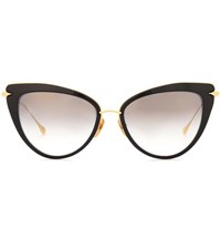Dita Eyewear Heartbreaker Cat Eye Sunglasses Black