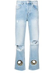 Anine Bing Giovanna Jeans Blue