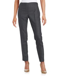 Elie Tahari Plaid Kari Pants Grey Multi