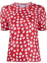 Escada Sport Floral Print Knitted Top 60
