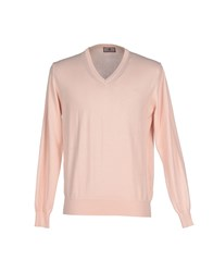 Norway Knitwear Jumpers Men Light Pink