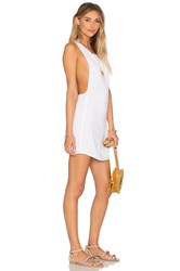 Indah Juno T Back Dress White