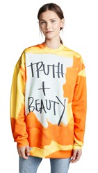Marques Almeida Oversized Sweatshirt Truth And Beauty