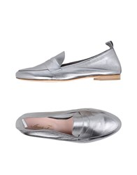 Anna F. Loafers Silver