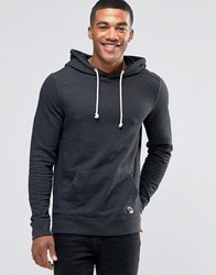 Abercrombie And Fitch Overhead Hoodie Lightweight Terry Dark Grey In Tbd Dark Grey