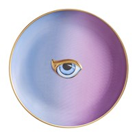 L'objet Lito Eye Canape Plate Blue Purple