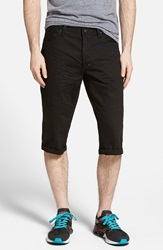 Prps 'Westpoint' Black Denim Shorts Black