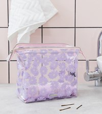 Skinnydip Lilac Daisy Wash Bag Purple