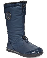 Nautica Amistead Cold Weather Boots Women's Shoes Navy