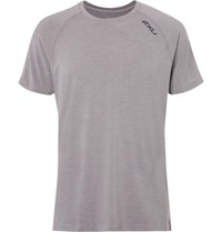 2Xu Heat Stretch Jersey T Shirt Gray