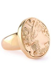 Kenneth Jay Lane Gold Tone Ring Gold