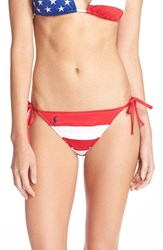 Women's Polo Ralph Lauren 'Ricky' Side Tie Bikini Bottoms