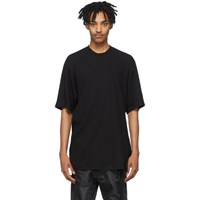 Julius Black Crepe Noil T Shirt