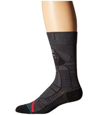 Stance Kylo Ren Dark Grey Men's Crew Cut Socks Shoes Gray