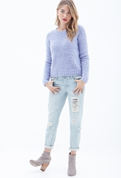 Forever 21 Faux Mohair Sweater
