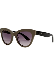 Marc By Marc Jacobs Grey Cat Eye Sunglasses