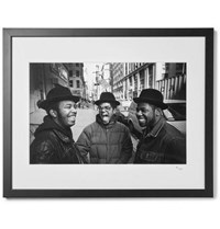 Sonic Editions Framed Run D.M.C. Print 16 X 20 Black