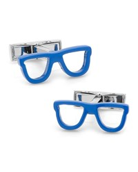 Cool Cut Shades Cuff Links Blue Ravi Ratan